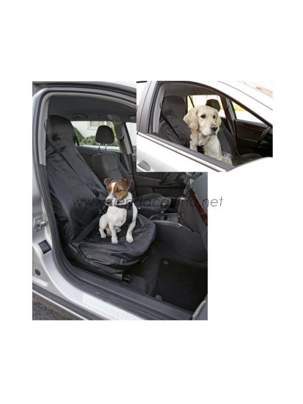 Colcha Cubre-Asientos Delantera para Coche - Colcha cubre-asientos delantero ideal para proteger el coche contra los pelos y la suciedad del perro cuando esté tumbado en el asiento.