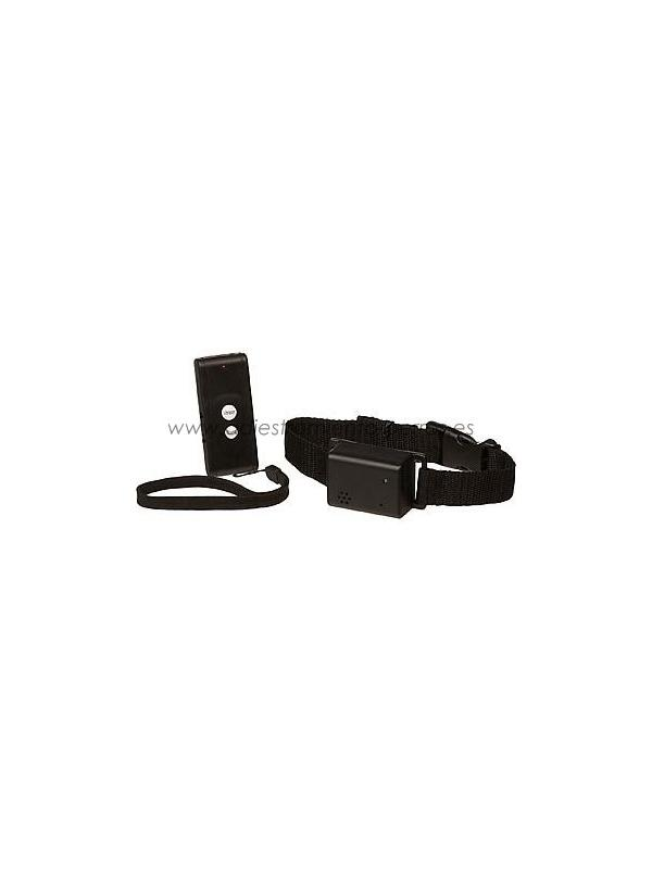 Collar por vibración Dog Trainer para perros - Collar educativo por vibración Dog Trainer de adiestramiento con mando para perros, con 50 metros de alcance.