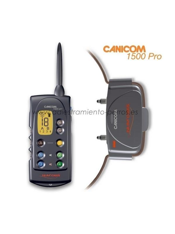 Collar Canicom 1500 Pro con mando de adiestramiento para perros