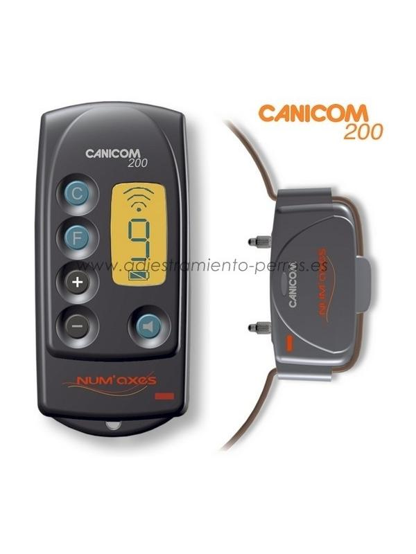 Collar Canicom 200 LCD con mando de adiestramiento para perros - Collar Canicom 200 LCD de adiestramiento con mando para perros, con 200 metros de alcance, con pantalla LCD y para 1 perro.