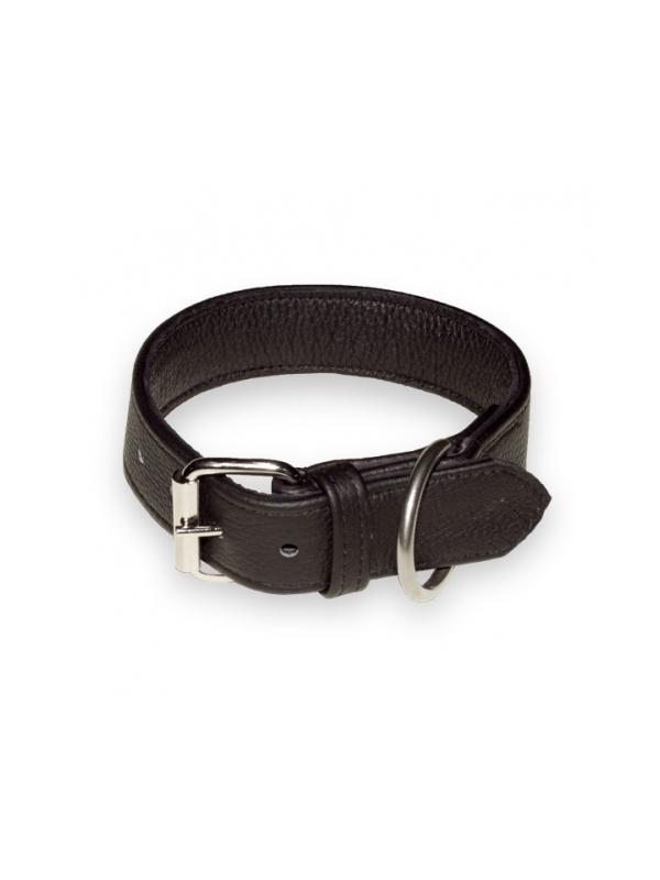 Collar de cuero técnico hecho a mano Julius K9 - Collar de cuero técnico hecho a mano, de la prestigiosa marca Julius K9. Disponible en negro,en tallas para perros de razas medianas hasta muy grandes.