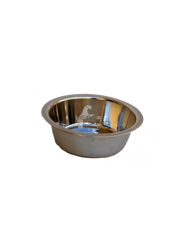 Comedero Inoxidable para perros - Comedero para perros de acero inoxidable, higiénico, duradero y fácil de limpiar. Disponible en 5 tamaños diferentes.