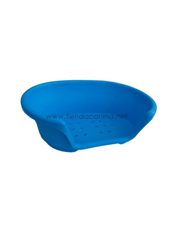Cuna de Plástico Cosy - Cuna de plástico para perros Azul Cosy resistente y de gran calidad, para el descanso de perros de cualquier tamaño. Existe en 7 tamaños diferentes. Disponibles colchonetas adaptables a cada cuna.