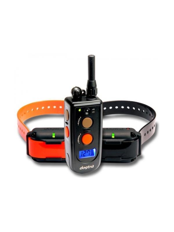 Collar de adiestramiento Dogtra 1212 NCP - Collar de adiestramiento Dogtra 1212 NCP. Para uso con hasta dos perros y con hasta 1200 metros de alcance. Tiene 127 niveles de intensidad y vibración. Funciona con batería recargable.