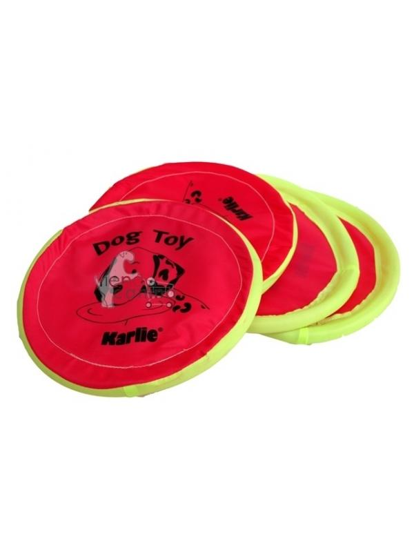 Disco - Frisbee de Nylon - Disco - frisbee de nylon de 24 cm. Es perfecto para lanzarlo a su mascota y que pueda cogerlo al vuelo. Los dos disfrutaréis mucho jugando.