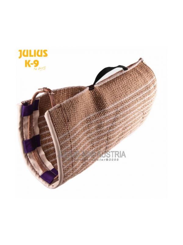 Funda de yute para mangas Julius K9 - Funda para mangas fabricada en yute. Para cubrir tanto manga corta como manga larga. Material ideal para acostumbrar al perro a la manga de competición. Uso profesional.
