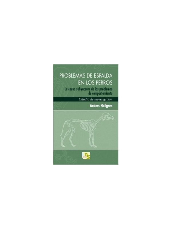 Libro Problemas de espalda en los perros de Anders Hallgren