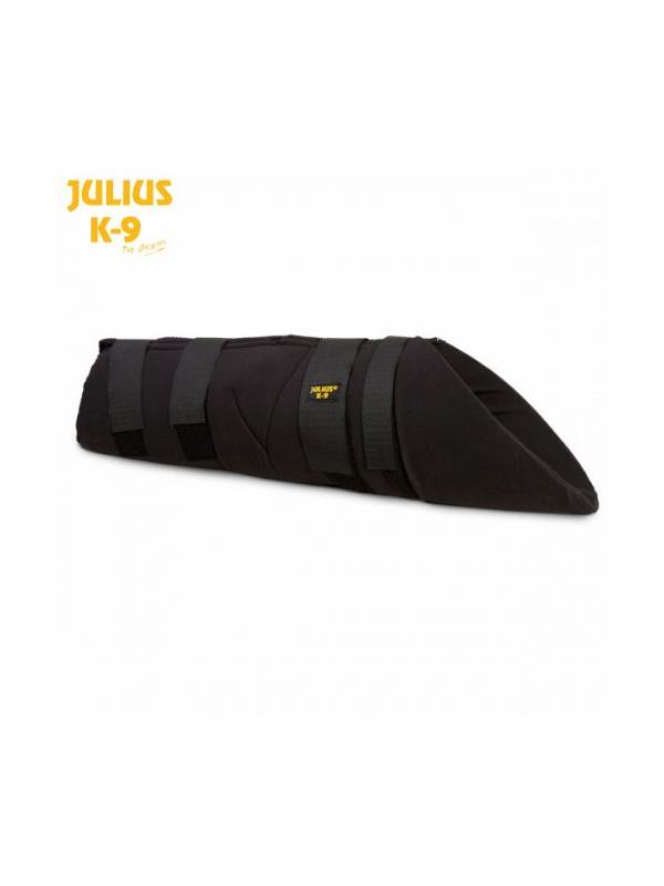 Protector de kevlar con distribución de presión Julius K9 - Manga oculta con distribución de presión. Para poner bajo la ropa en el adiestramiento de perros de defensa deportiva. Totalmente ajustable fabricada en kevlar de 0.5 cm de grosor.