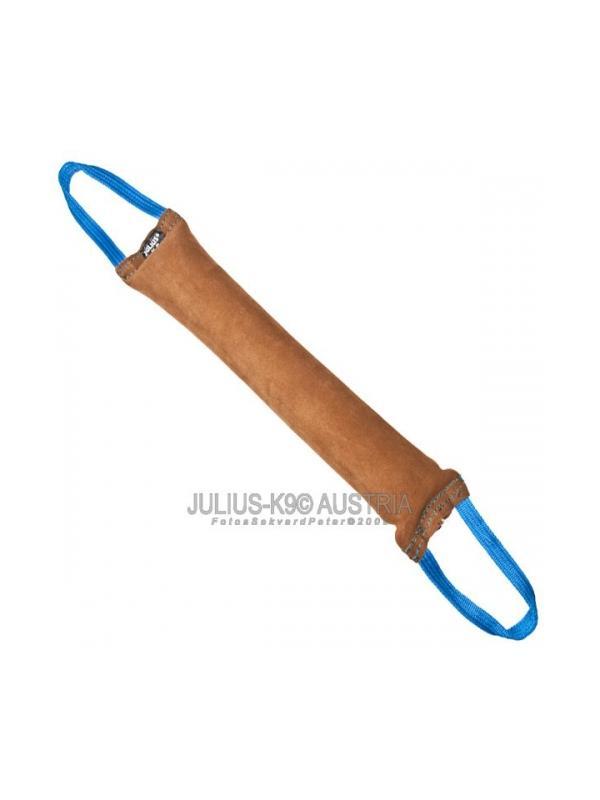 Mordedor de cuero vuelto con asa Julius K9 - Mordedor para perros de cuero vuelto Julius K9. Excelente motivador para perros con asa. Diferentes tamaños para todo tipo de perros.