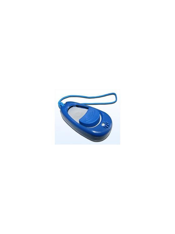 Multi clicker con regulador de volumen para perros - Multi Clicker para el adiestramiento de perros. Emite un sonido que previamente hay que asociar al perro con un premio. Con un regulador del volumen del chasquido, especial para perros sensibles.