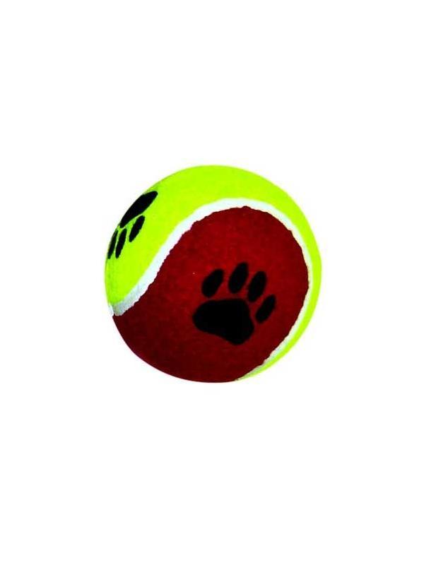 Pelota gigante de tenis para perros