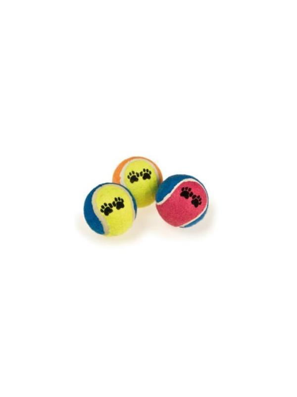 Pelotas de tenis para perros en pack de dos unidades - Pack de dos pelotas de tenis para perros. Para jugar con el perro a tirar la pelota. Compatible con el lanzador de pelotas.