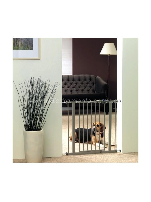 Puerta de Seguridad de acero para perros - Puerta de Seguridad de acero para perros. Diseñada para evitar que los perros puedan circular libremente por la casa.