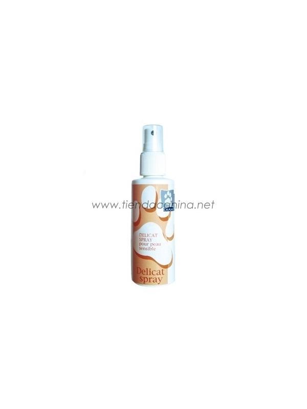 Spray pieles delicadas para perros Diamex - Spray pieles delicadas para perros Diamex con efecto tranquilizante de las irritaciones cutáneas y picores, suaviza las pieles sensibles.
