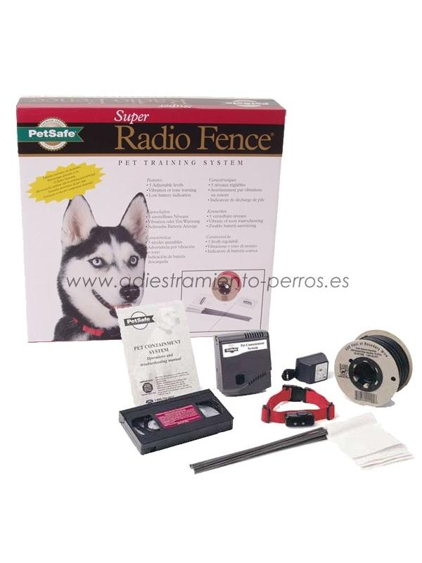 Kit completo de valla invisible Radio-Fence Super