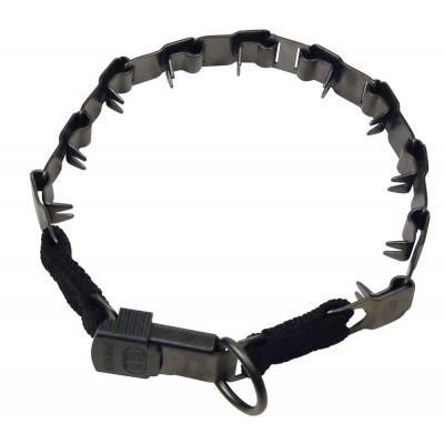 Collar de adiestramiento Neck Tech Negro mate con cierre click lock de Sprenger