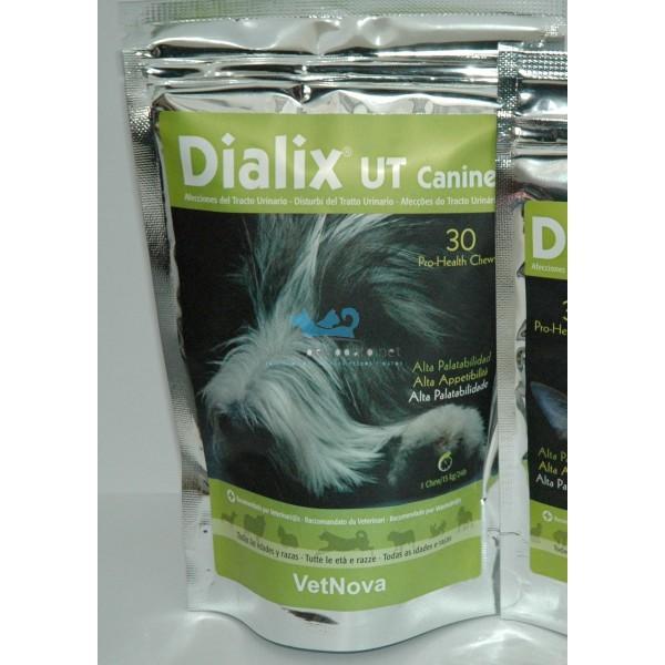 Dialix TU disolver cálculos estruvita para perros
