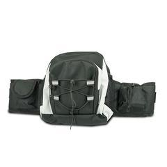 Cinturón riñonera multiusos con varios compartimentos
