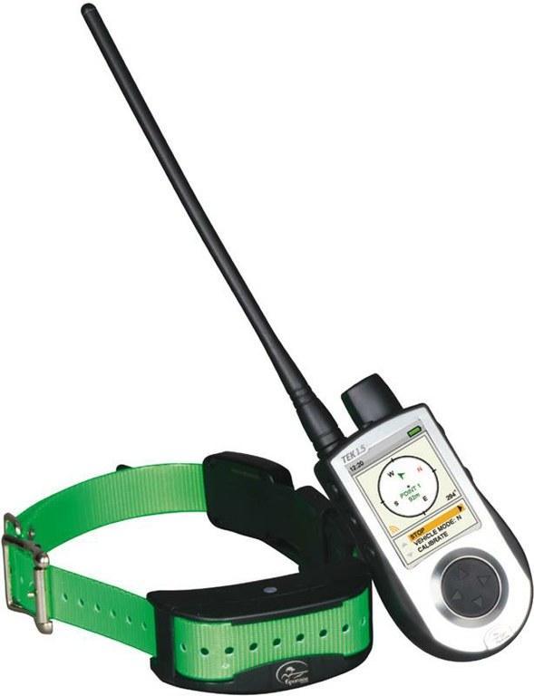 Collar Sportdog Tek 1.5 Localizador GPS - El sistema de localización TEK 1.5 le permite hacer el seguimiento de hasta 12 perros a la vez a una distancia de hasta 11 kilómetros. Puede ver la ubicación de sus perros a una escala de hasta 120 km y la velocidad a la que se mueven. También tiene incorporada una brújula compensada con inclinación integral. Este producto incluye el collar TEK 2.0. Este collar es compatible con los collares TEK 1.0 y TEK 2.0.